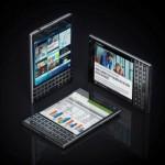 Vierkante BlackBerry smartphone