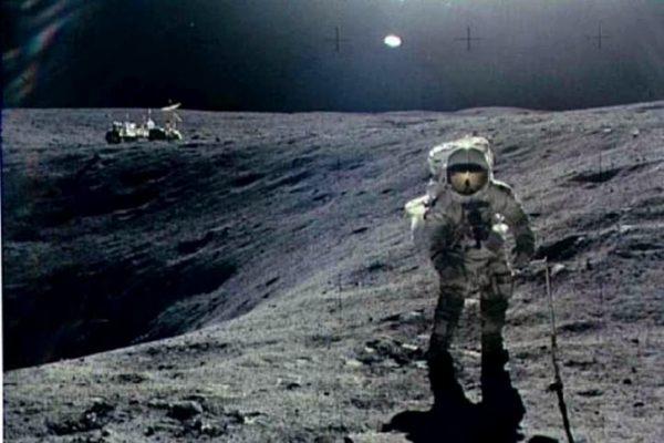 Lopen op de maan met virtual reality