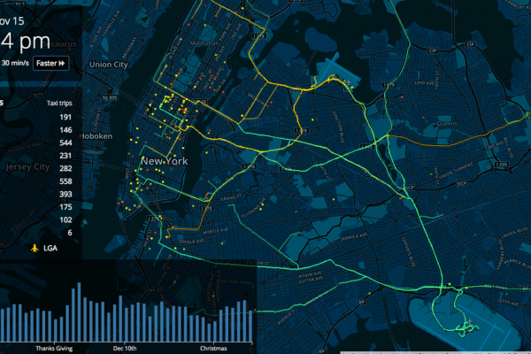 NYC Flight-taxi visualization