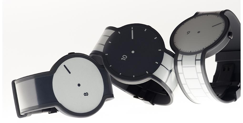 Sony e-paper horloge