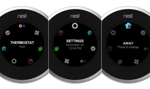 Nieuw interface Nest