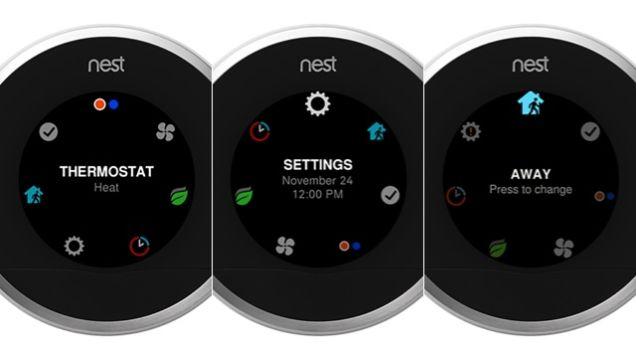 Nieuw interface Nest