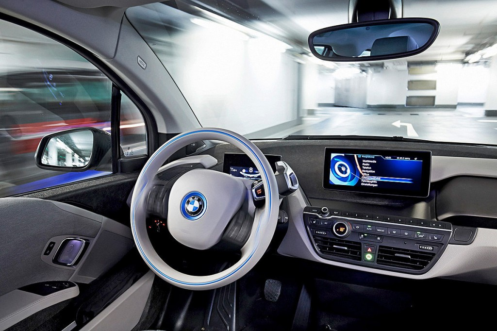 BMW i3 parkeren