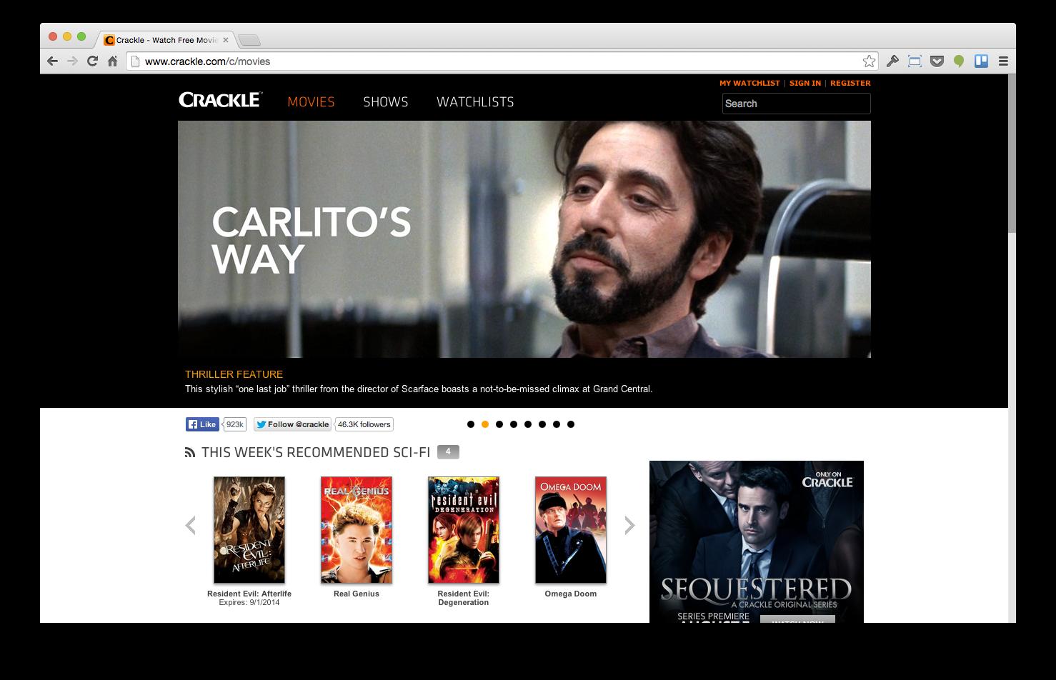 De beste sites voor het streamen van films en series