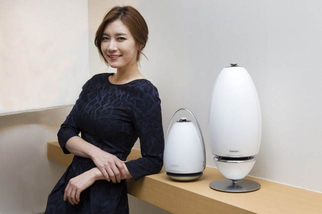 Samsung komt met serie futuristische speakers op CES 2015