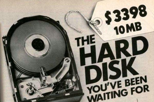 Harddisk 10 mb