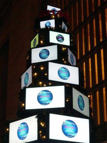 LCD boom