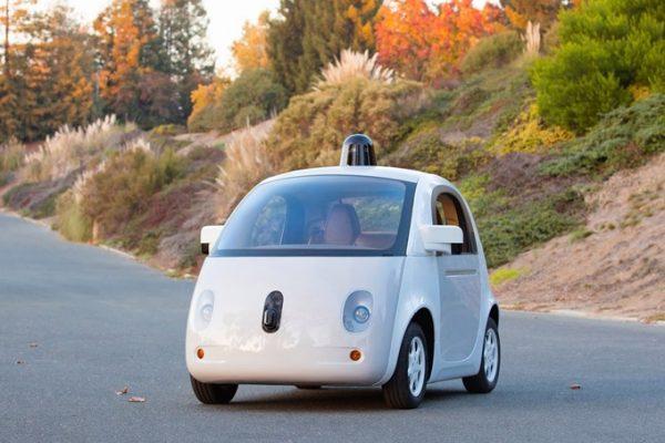 Aanschouw Google's eerste werkende prototype van de zelfbesturende auto