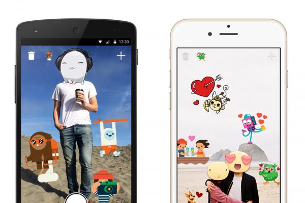 """Facebook lanceert nieuwe app genaamd """"Stickered"""""""