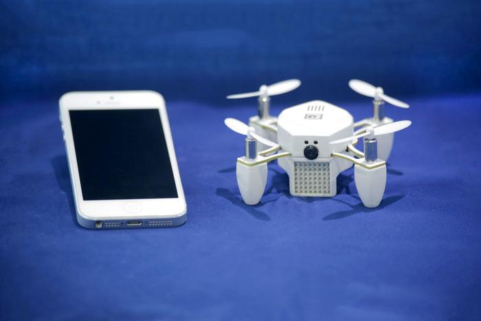 Ontmoet Zano: 's werelds meest geavanceerde Nano Drone