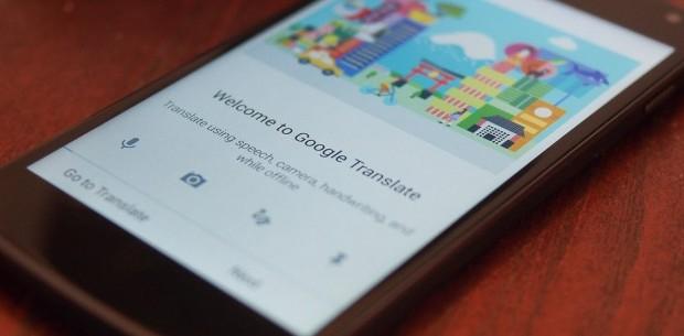 Google Translate kan nu in real time borden en gesprekken ...