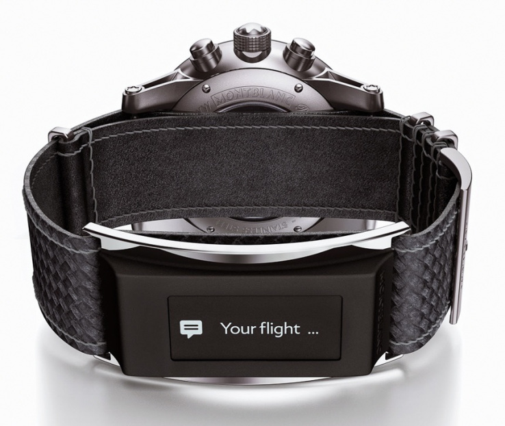 Montblanc kondigt een slim bandje aan voor je normale horloge