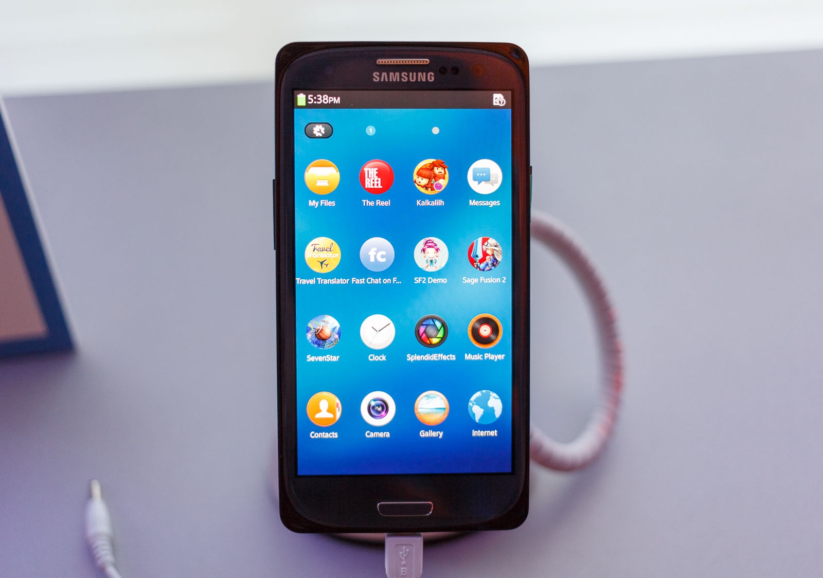 Tizen reference design at Mobile World Congress 2014