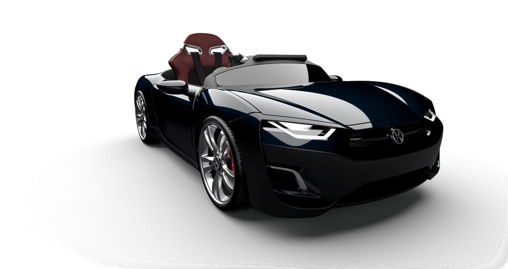 Deze elektrische super auto voor kinderen is luxer dan je eigen auto