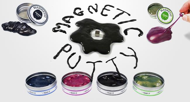 Magnetic Nano Putty