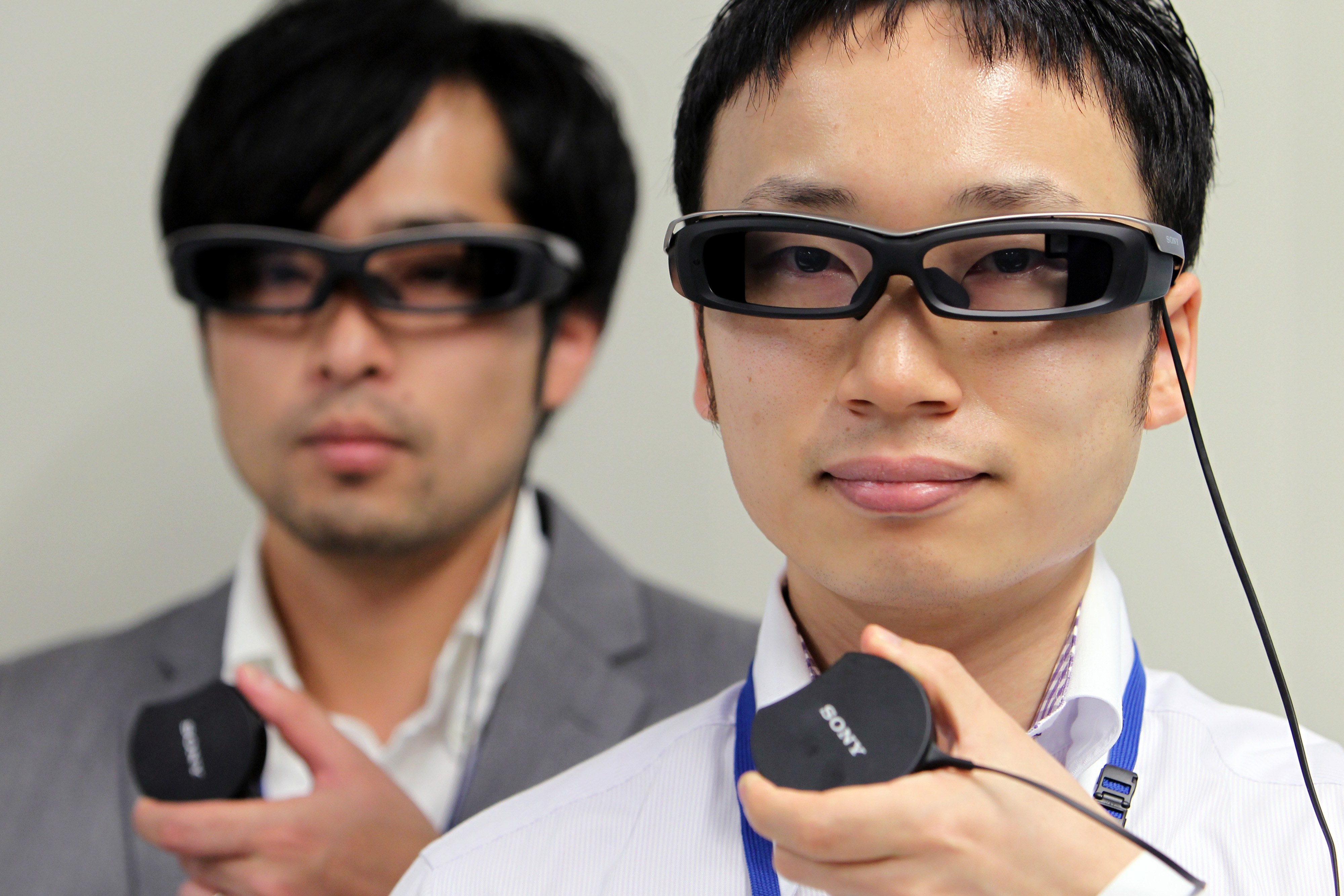 Sony Corp.'s Smart Eyeglass On Show At A Touch-And-Try Event