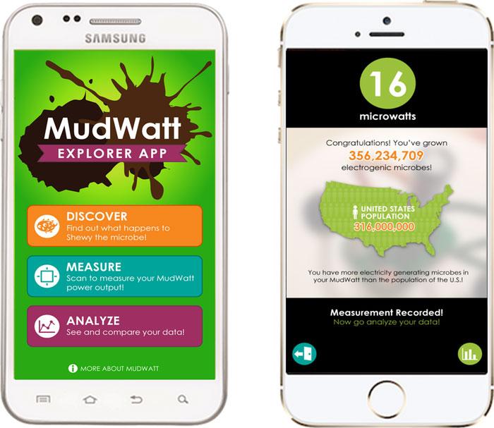 MudWatt app