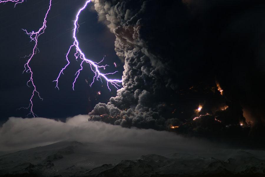 vulkanisch bliksem
