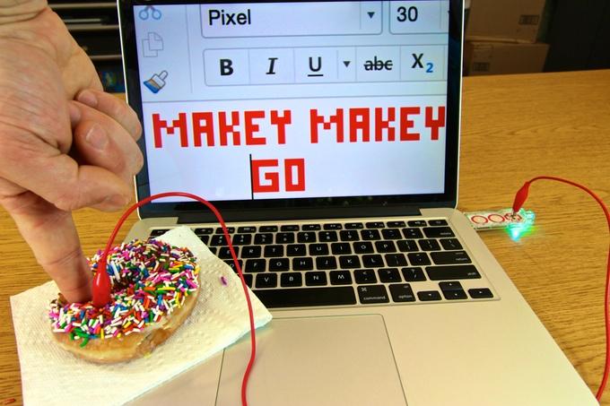 Makey Makey donut