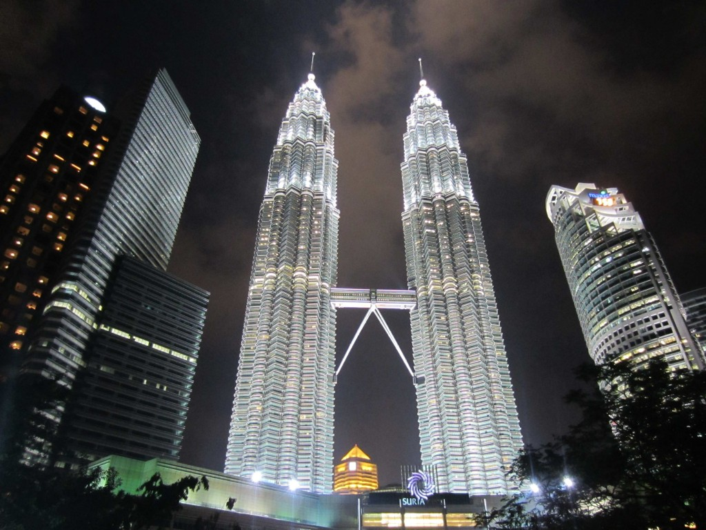 towers-at-night
