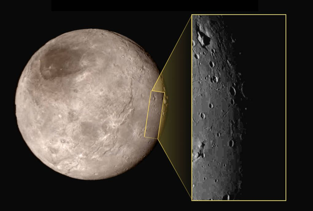 Charon close-up