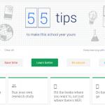 55 tips van Google om dit schooljaar van jou te maken