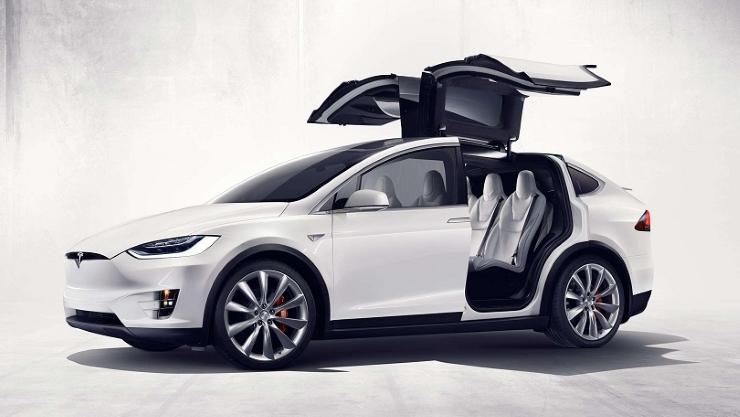 Tesla falcon doors