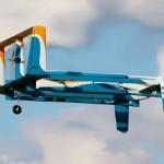 Amazon toont pakket-leverende drones