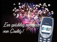 Gelukkig nieuwjaar van Geekly