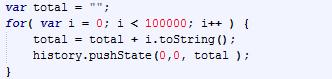 Stukje JavaScript op crashsafari.com