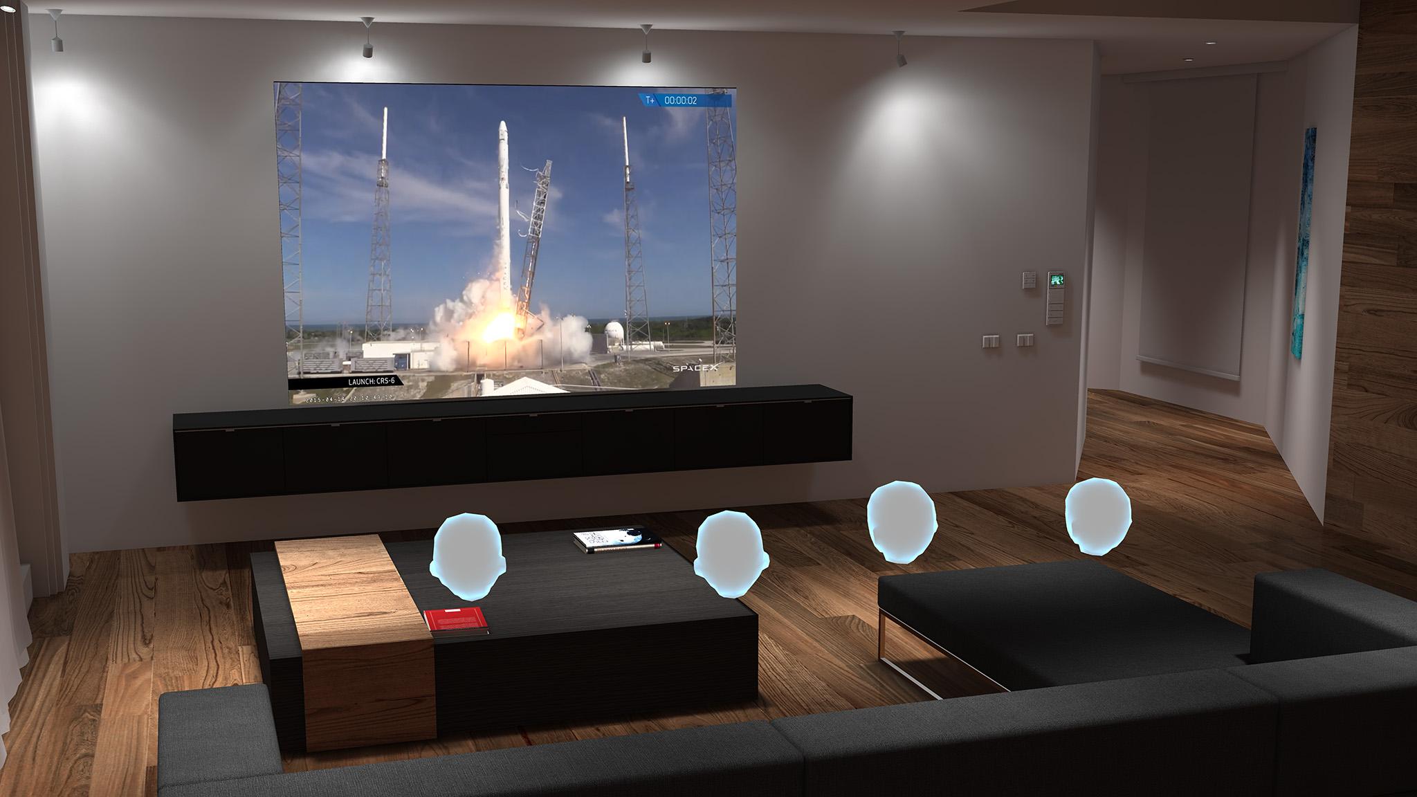 BigScreen SpaceX