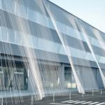 Koolstofvezel draden beschermen gebouw tegen aardbeving