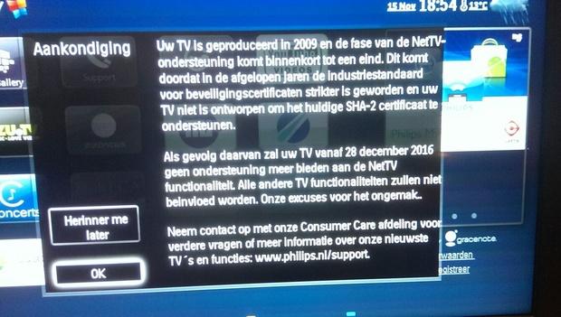 Slimme Philips-tv's worden weer dom