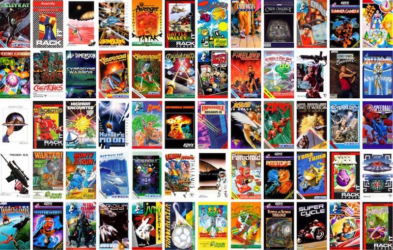 Alle vette C64-games van weleer zitten erbij!